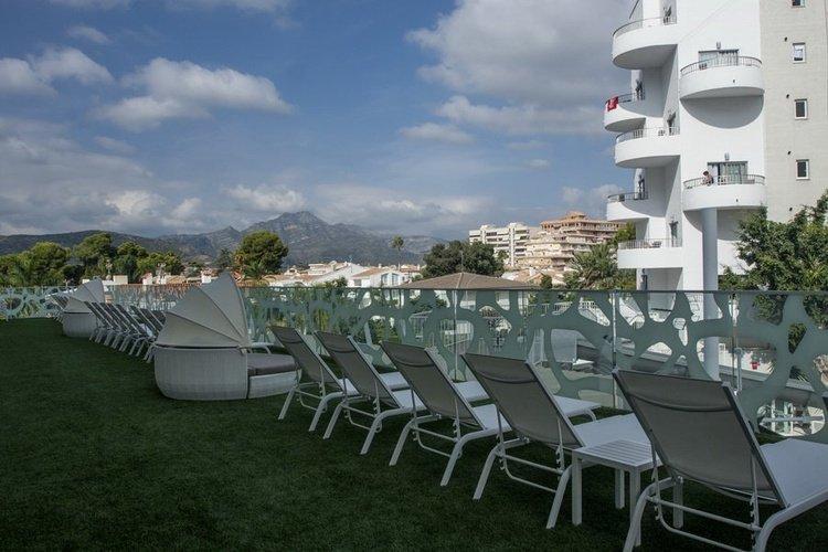 TV lounge and entertainment shows Villa Luz Family Gourmet & All Exclusive Hotel Gandia beach Villa Luz Family Gourmet & All Exclusive Hotel Gandia beach