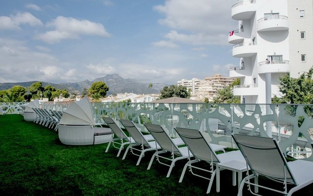 'the tower' terrace club (with access to solarium) villa luz family gourmet & all exclusive hotel gandia beach