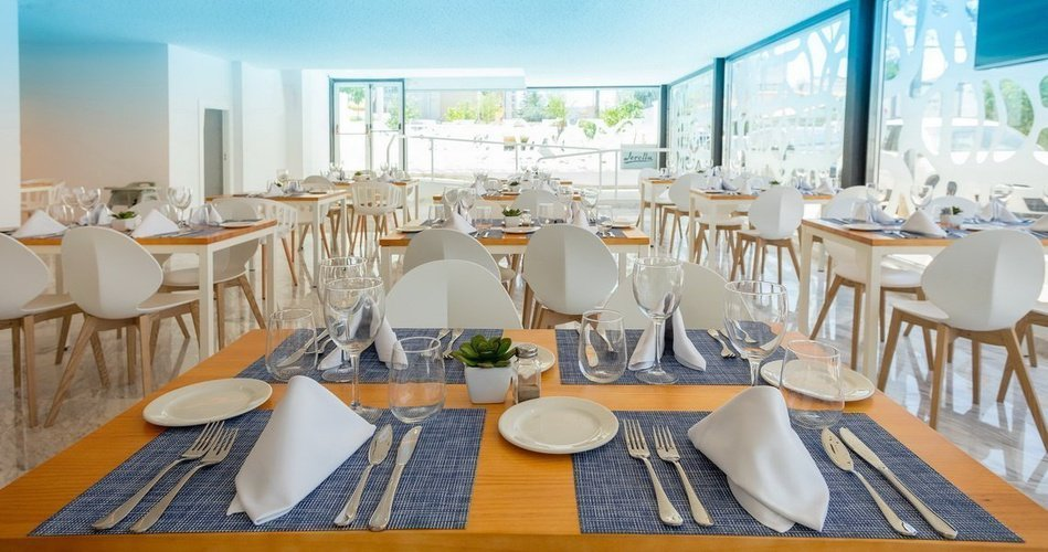 Restaurant villa luz family gourmet & all exclusive hotel gandia beach
