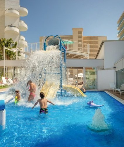 Child pool villa luz family gourmet & all exclusive hotel gandia beach