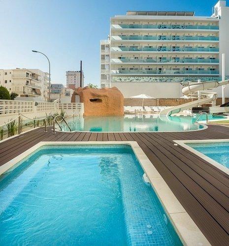 Swimming Pools Villa Luz Family Gourmet & All Exclusive Hotel Gandia beach
