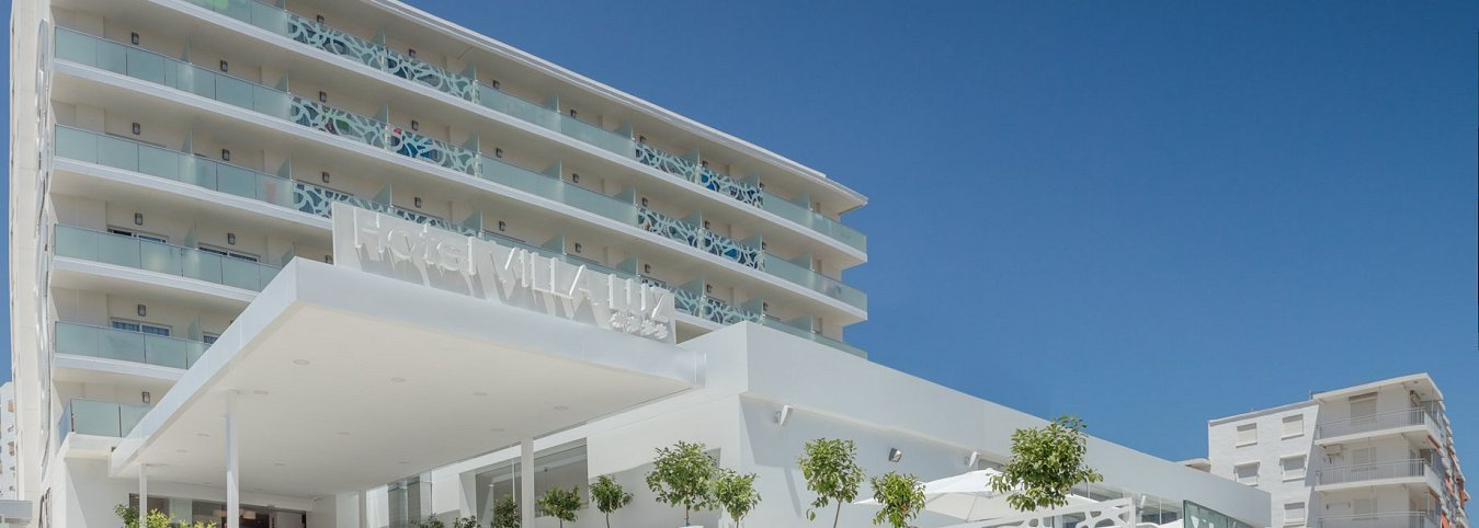 Facade Villa Luz Family Gourmet & All Exclusive Hotel